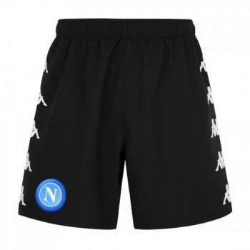 SSC Napoli Third Shorts Black 2020 2021